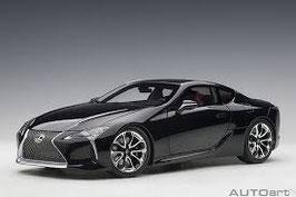 2017 Lexus LC500 black 1:18