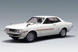 1970 Toyota Celica 1600 GT white 1:18