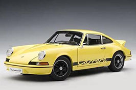 1973 Porsche 911 Carrera RS 2.7 (F-Modell) yellow-black 1:18