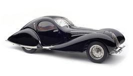 1937 Talbot-Lago Coupé T150 C-SS Figoni & Falaschi Teardrop black 1:18