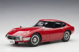 1967 Toyota 2000 GT Coupe red 1:18