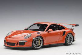 2015 Porsche 911 991 GT3-RS lava-orange 1:18