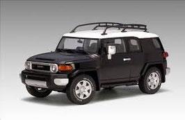 2006 Toyota FJ-Cruiser black-white 1:18