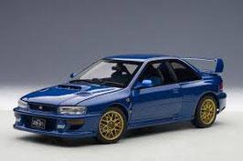 1998 Subaru Impreza 22B blue 1:18