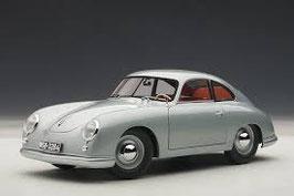1950 Porsche 356 Coupe Ferdinand fishsilvergrey 1:18