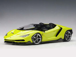 2016 Lamborhini Centenario Roadster verde scandal (light green) 1:18