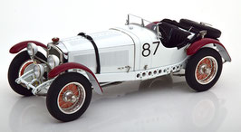 1931 Mercedes-Benz SSKL Winner Mille Miglia #87 Caracciola / Sebastian 1:18