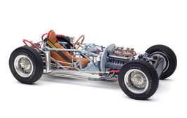 1954 Lancia rolling chassis 1:18