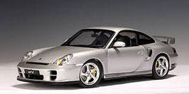 2002 Porsche 911 996 GT2 silver 1:18