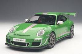 2011 Porsche 911 997 GT3-RS 4.0 green 1:18