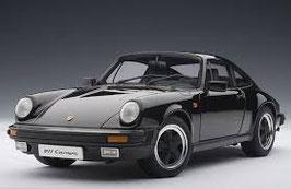 1984 Porsche 911 (G-Modell) Carrera 3.2 black 1:18