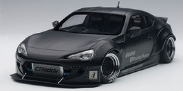 2012 Toyota GT86 Rocket-Bunny black matt 1:18