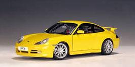 1999 Porsche 911 996 GT3 yellow 1:18