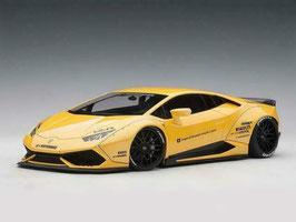 2015 Lamborghini Huracan LB-works yellow metallic 1:18