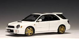 2001 Subaru Impreza WRX STI Wagon white 1:18