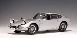 1967 Toyota 2000 GT Coupe silver 1:18