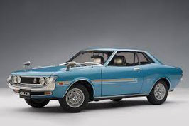 1970 Toyota Celica 1600 GT blue metallic 1:18