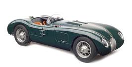 1952 Jaguar C-Type british racing green 1:18