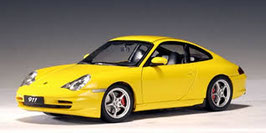 1997 Porsche 911 996 Carrera yellow 1:18