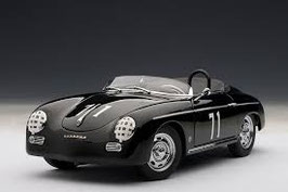 1958 Porsche 356 Speedster Steve McQueen black #71, 1:18