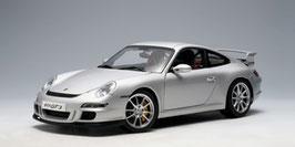 2006 Porsche 911 997 GT3 silver 1:18