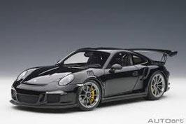 2015 Porsche 911 991 GT3-RS black 1:18