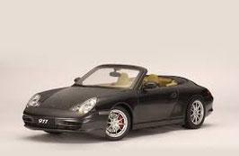 1997 Porsche 911 996 Carrera Cabrio anthrazit 1:18