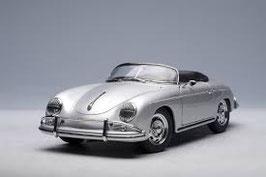 1955 Porsche 356A Speedster silver 1:18