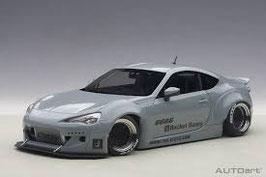 2012 Toyota GT86 Rocket-Bunny grey 1:18