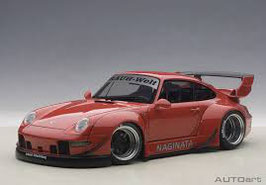 20?? Porsche 911 993 RWB red 1:18