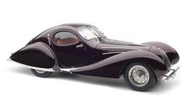 "1937 Talbot-Lago Coupé T150 C-SS Figoni & Falaschi Teardrop ""Memory Edition"" aubergine 1:18"