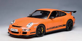 2006 Porsche 911 997 GT3-RS orange-black 1:18