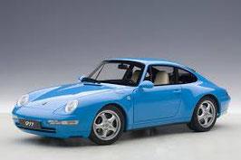 1993 Porsche 911 993 Carrera riviera-blue 1:18