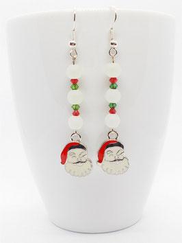 Ohrhänger Weihnachtsmann - Kristalle von Swarovski®