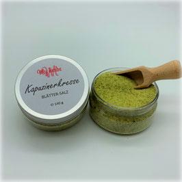 Kapuzinerkresse Blätter - Salz
