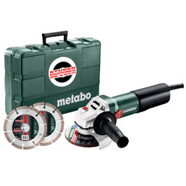 Winkelschleifer Metabo WQ 1100-125 Set