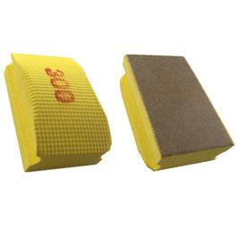 Handschleifpad Diamant 90x55 K300 gelb