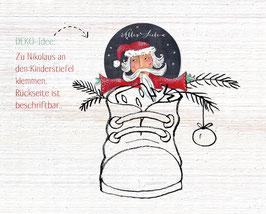 Dekofigur Nikolaus oder Weihnachtsmann