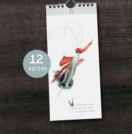Postkarten-Ringbuch DIN lang