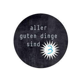 Adventskalenderzahlen-Aufkleber Spruch-Kniffl Tafel OHNE Herzen
