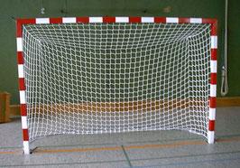 Alu-Handballtor, in Bodenhülsen, angeschweißte Netzösen 2,00 x 3,00 m