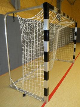 """Alu-Handballtor """"freistehend"""", klappbare Netzbügel 2,00 x 3,00 m"""
