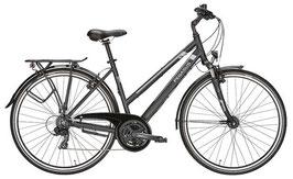 Trekkingbike Pegasus Piazza 28 Zoll 21 Gang Kettenschaltung schwarz