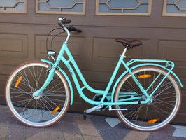 "Pegasus Bici Italia hellblau Damen Retro Bike 28"" 7 Gang"