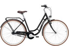 """Pegasus Bici Italia Damen Retro Bike schwarz 28"""" 7 Gang"""