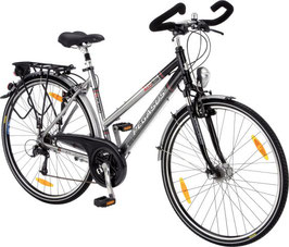 Pegasus Solero Alu Light Trekkingbike silber/schwarz 21 Gang 500-66450