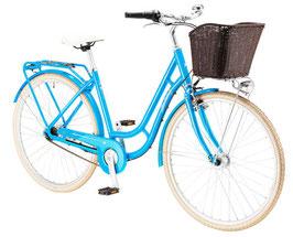 "Pegasus Bici Italia Damen Retro Bike blau 28"" 3 Gang 586-89750"