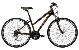 Feld Damen Crossbike QX 70 RH 55 braun/gelb 801201150