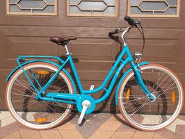 "Pegasus Bici Italia Damen Retro Bike blau 28"" 7 Gang"