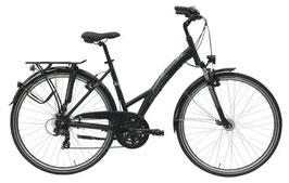 Damen Trekkingbike Piazza 21 Gang schwarz  576-01149